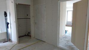 Scheiding pantry studio 1